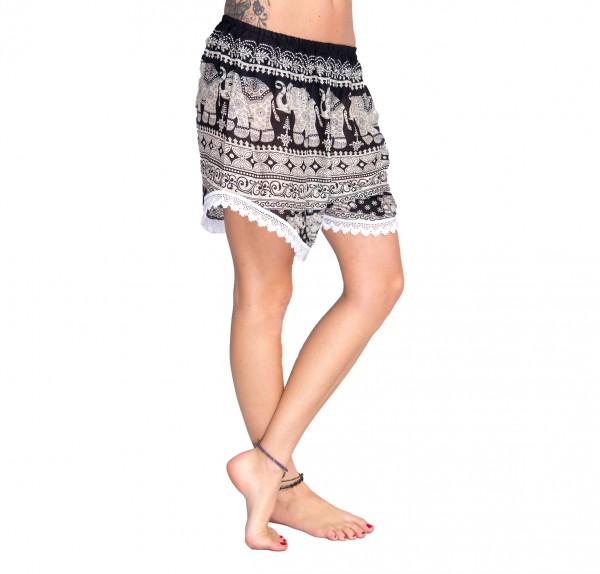Shorts - Weißkranz